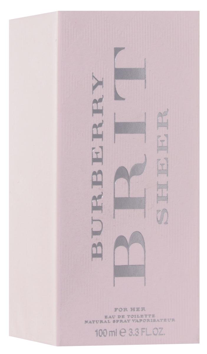 Burberry Sheer Woman Туалетная вода, 100 мл (новый дизайн)3400135