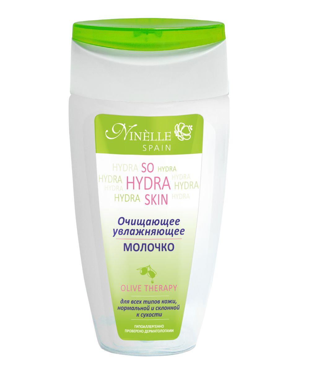 Ninelle So Hydra Skin Очищающее увлажняющее молочко, 150 мл1076N10785Интенсивное увлажняющее и тонизирующее молочко серии SO HYDRA SKIN, эффективно очищающее кожу от загрязнений. Нежно удаляет макияж с лица, глаз и губ, питает кожу и стимулирует обновление клеток и помогает сохранить должный уровень увлажненности на долгое время. Заметно повышает эластичность и упругость кожи. Усиливает ее естественную защиту от стрессов и негативного действия окружающей среды. Содержит Hydromanil complex, Масло оливы, Сквалан, Витамин Е, SPF6, UVA/UVB защита.