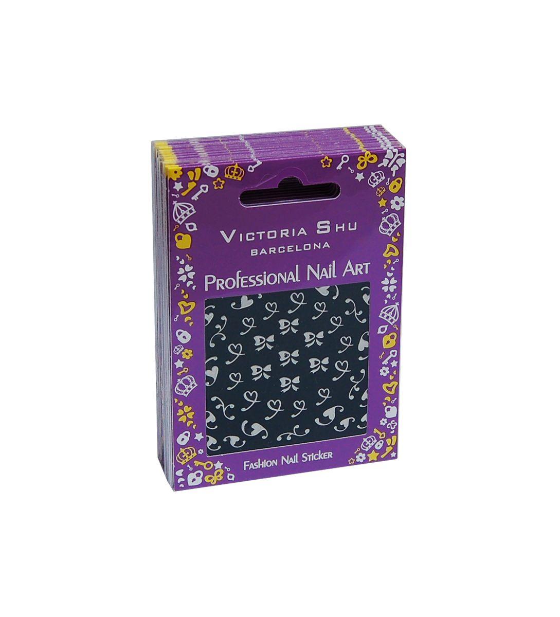 Victoria Shu NS010 Комплект наклеек для ногтей, 12 шт1080V15670Наклейки для ногтей позволяют украсить ногти так, как это невозможно сделать при помощи обычного лака.