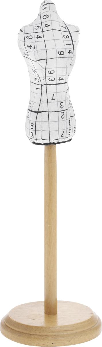 Игольница-манекен RTO Судоку, высота 29,5 см2933-RTИгольница-манекен RTO Судоку изготовлена из текстиля на деревянной подставке. С ней ваши булавки и иголки не потеряются и всегда будут на своем месте! А яркий дизайн сделает эту вещицу украшением вашей коллекции предметов для шитья. Изделие можно также использовать как органайзер для наглядного хранения украшений.