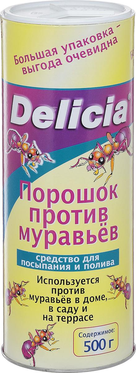 Порошок против муравьев Delicia, 500 г1558-760Порошок Delicia используется против муравьев в доме, саду и на террасе. Средство может применяться как для посыпания, так и для полива. Муравьи переносят порошок в свое гнездо, где он поедается муравьиной королевой и подрастающим потомством. Коме того, порошок обладает контактным действием. Действующее вещество: 10 г/кг хлорпирифос. Противоядие: атропин + токсогонин (при врачебном контроле). Товар сертифицирован.