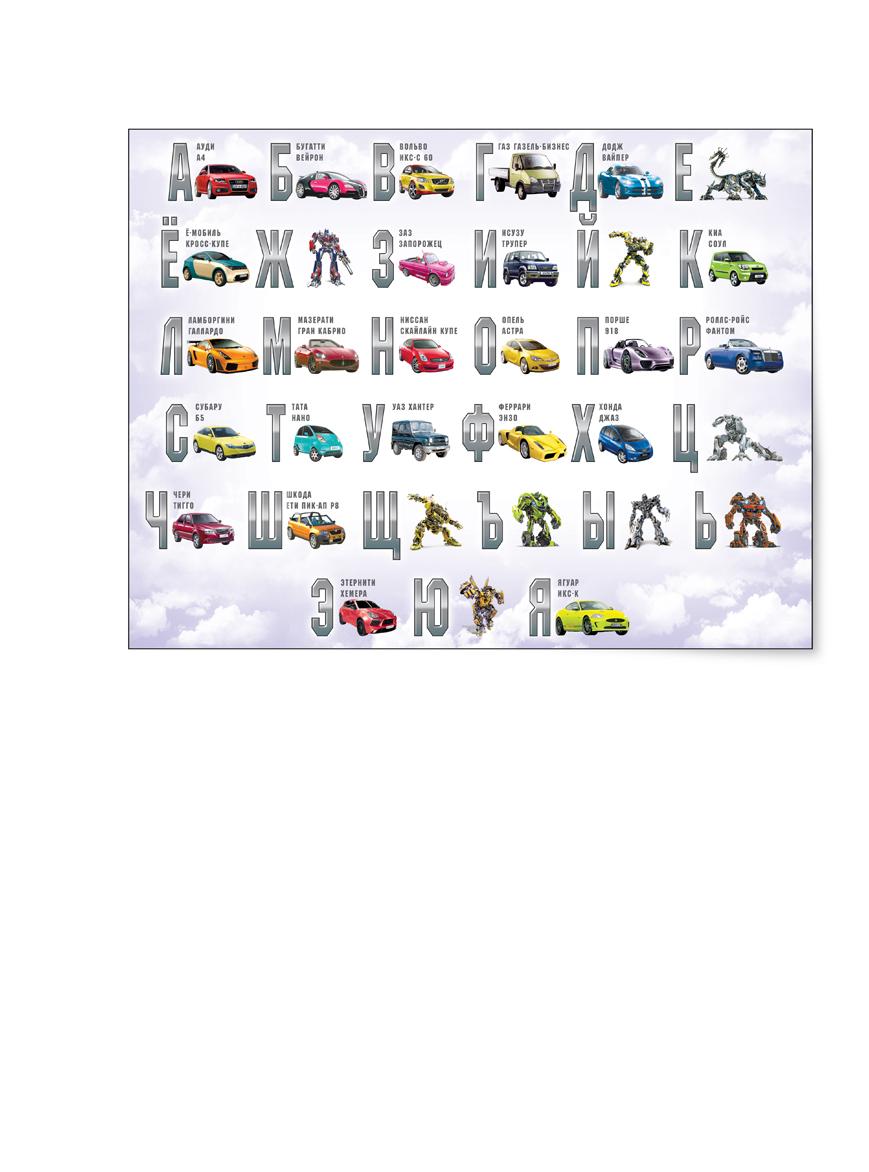 Шпаргалки для мамы Обучающая игра Азбука на магнитах для мальчиков 3-7 лет830Виниловый магнит на холодильник заметно облегчает процесс ознакомления детей с буквами русского алфавита. Купите магнит на холодильник «Азбука (для мальчиков) 3-7 лет», и Вы получите лист формата А4 с буквами и картинками для мальчиков. Делаем обучение ребенка буквам радостным!