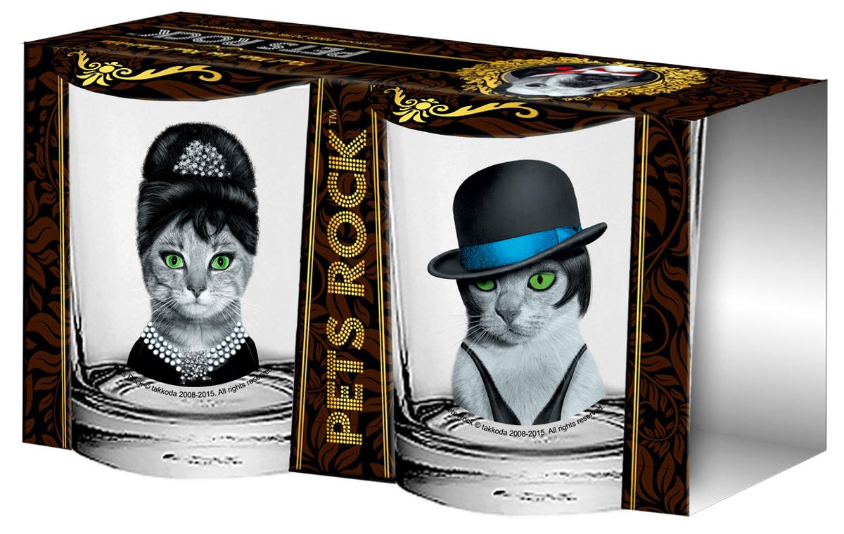 Набор стаканов  Pets Rock, 250 мл, 2 шт. PETS4-2KPETS4-2K