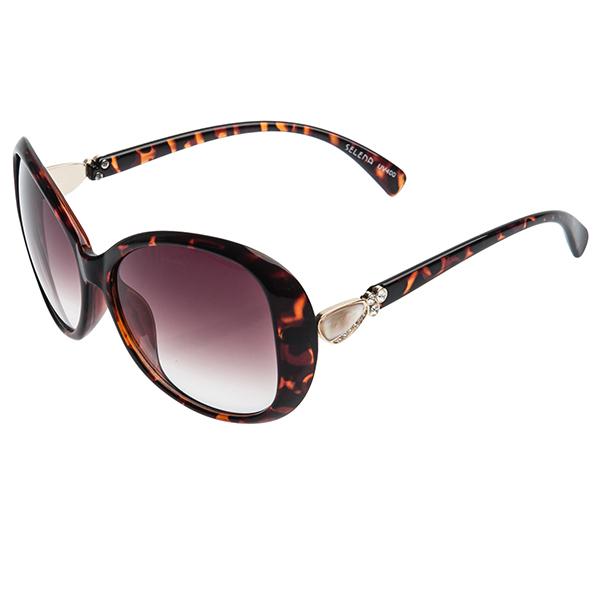 Солнцезащитные очки женские Selena, цвет: коричневый. 8002440180024401