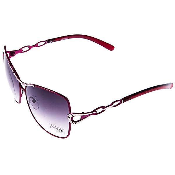 Солнцезащитные очки женские Selena, цвет: коричневый. 8003033180030331Солнцезащитные женские очки Selena выполнены из высококачественного пластика с элементами из металла, оправа оформлена принтом леопард. Линзы данных очков с высокоэффективным фильтром UV-400 Protetion обеспечивают полную защиту от ультрафиолетовых лучей. Используемый пластик не искажает изображение, не подвержен нагреванию и вредному воздействию солнечных лучей. Такие очки защитят глаза от ультрафиолетовых лучей, подчеркнут вашу индивидуальность и сделают ваш образ завершенным.