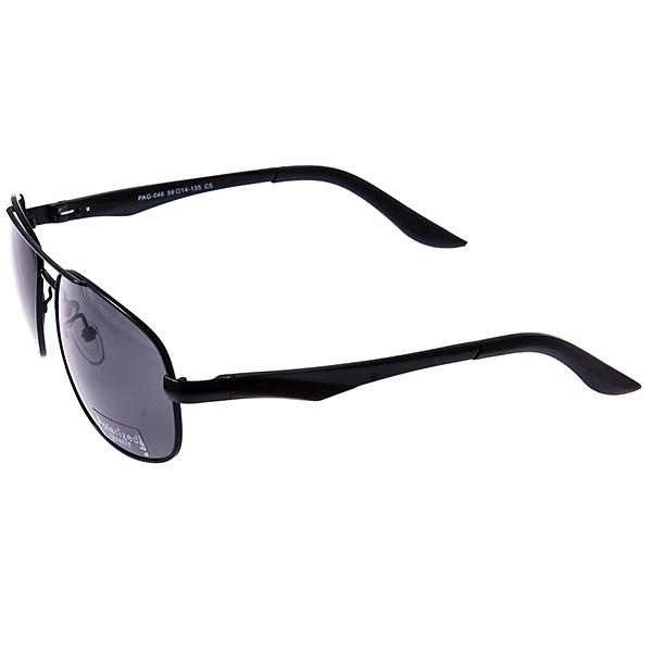 Солнцезащитные очки Selena, цвет: черный. 8003182180031821Универсальные солнцезащитные очки Selena выполнены из металла с элементами из силикона и высококачественного пластика. Линзы данных очков с высокоэффективным поляризационным покрытием и фильтром UV400 блокируют слепящий эффект и обеспечивают полную защиту от ультрафиолетовых лучей. Используемый пластик не искажает изображение, не подвержен нагреванию и вредному воздействию солнечных лучей. Дужки дополнены покрытием из силикона, что обеспечит максимальный комфорт. Такие очки защитят глаза от ультрафиолетовых лучей, подчеркнут вашу индивидуальность и сделают ваш образ завершенным.
