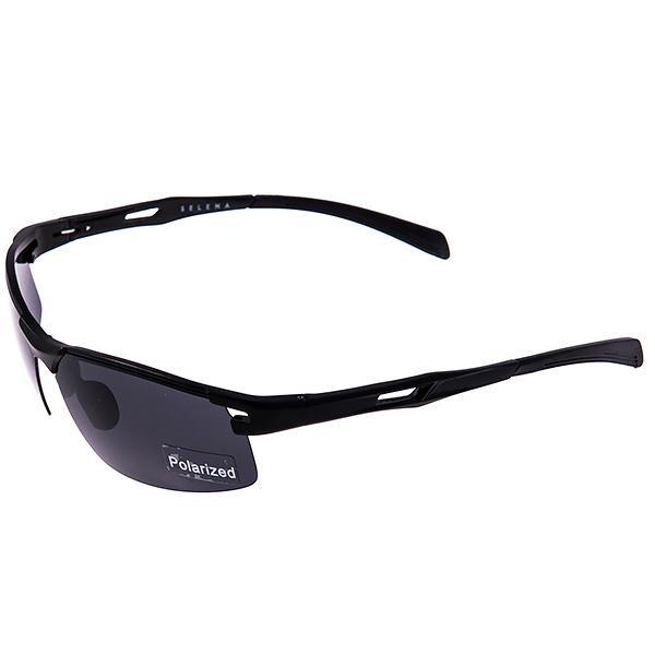 Солнцезащитные очки Selena, цвет: черный. 8003186180031861Универсальные солнцезащитные очки Selena выполнены из металла с элементами из высококачественного пластика. Линзы данных очков с высокоэффективным поляризационным покрытием блокируют слепящий эффект и обеспечивают полную защиту от ультрафиолетовых лучей. Используемый пластик не искажает изображение, не подвержен нагреванию и вредному воздействию солнечных лучей. Дужки дополнены покрытием из пластика, что обеспечит максимальный комфорт при использовании. Такие очки защитят глаза от ультрафиолетовых лучей, подчеркнут вашу индивидуальность и сделают ваш образ завершенным.