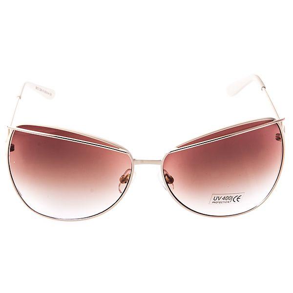 Солнцезащитные очки женские Selena, цвет: слоновая кость. 8003244180032441Солнцезащитные женские очки Selena выполнены из металла с элементами из высококачественного пластика, дужки дополнены декоративными элементами. Линзы данных очков с высокоэффективным фильтром UV-400 Protetion обеспечивают полную защиту от ультрафиолетовых лучей. Используемый пластик не искажает изображение, не подвержен нагреванию и вредному воздействию солнечных лучей. Такие очки защитят глаза от ультрафиолетовых лучей, подчеркнут вашу индивидуальность и сделают ваш образ завершенным.