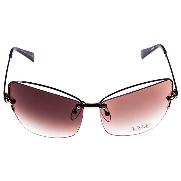 Солнцезащитные очки женские Selena, цвет: коричневый. 8003246180032461Солнцезащитные женские очки Selena выполнены из металла с элементами из высококачественного пластика, дужки оформлены декоративными элементами. Линзы данных очков с высокоэффективным фильтром UV-400 Protection обеспечивают полную защиту от ультрафиолетовых лучей. Используемый пластик не искажает изображение, не подвержен нагреванию и вредному воздействию солнечных лучей. Такие очки защитят глаза от ультрафиолетовых лучей, подчеркнут вашу индивидуальность и сделают ваш образ завершенным.