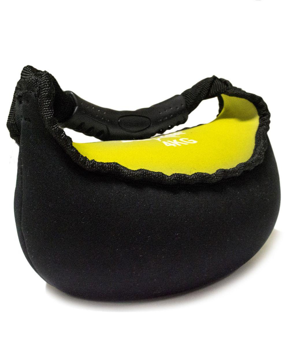 Гиря мягкая неопреновая Star Fit, цвет: черный, желтый, 4 кгУТ-00007115Гиря Star Fit выполнена из прочного неопрена с наполнителем из песка. Она предназначена для проработки различных групп мышц. Гиря оснащена удобной пластиковой ручкой. Гири - это самое простое и самое гениальное спортивное оборудование для развития мышечной массы. Правильно поставленные тренировки с ней позволяют не только нарастить мышечную массу, но и развить повышенную выносливость, укрепляют сердечнососудистую систему и костно-мышечный аппарат. Вес гири: 4 кг.