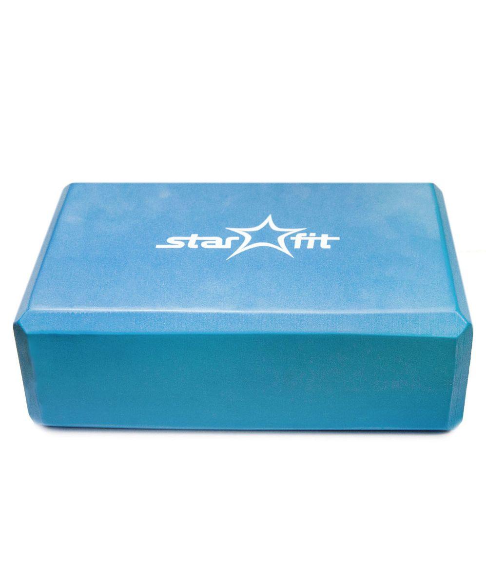 Блок для йоги Starfit, цвет: синий. FA-101УТ-00007216Блок для йоги FA-101 PVC синий - это опорный блок для занятий йогой от популярного австралийского бренда Star Fit. Обеспечивает надежную опору и фиксацию в различных позах. Его могут использовать как новички, так и те, кто достиг значительных результатов. Основные характеристики: Размер, см: нет Материал: ПВХ Цвет: синий Дополнительные характеристики: Производство: КНР Особенности: имеет легкий незначительный вес