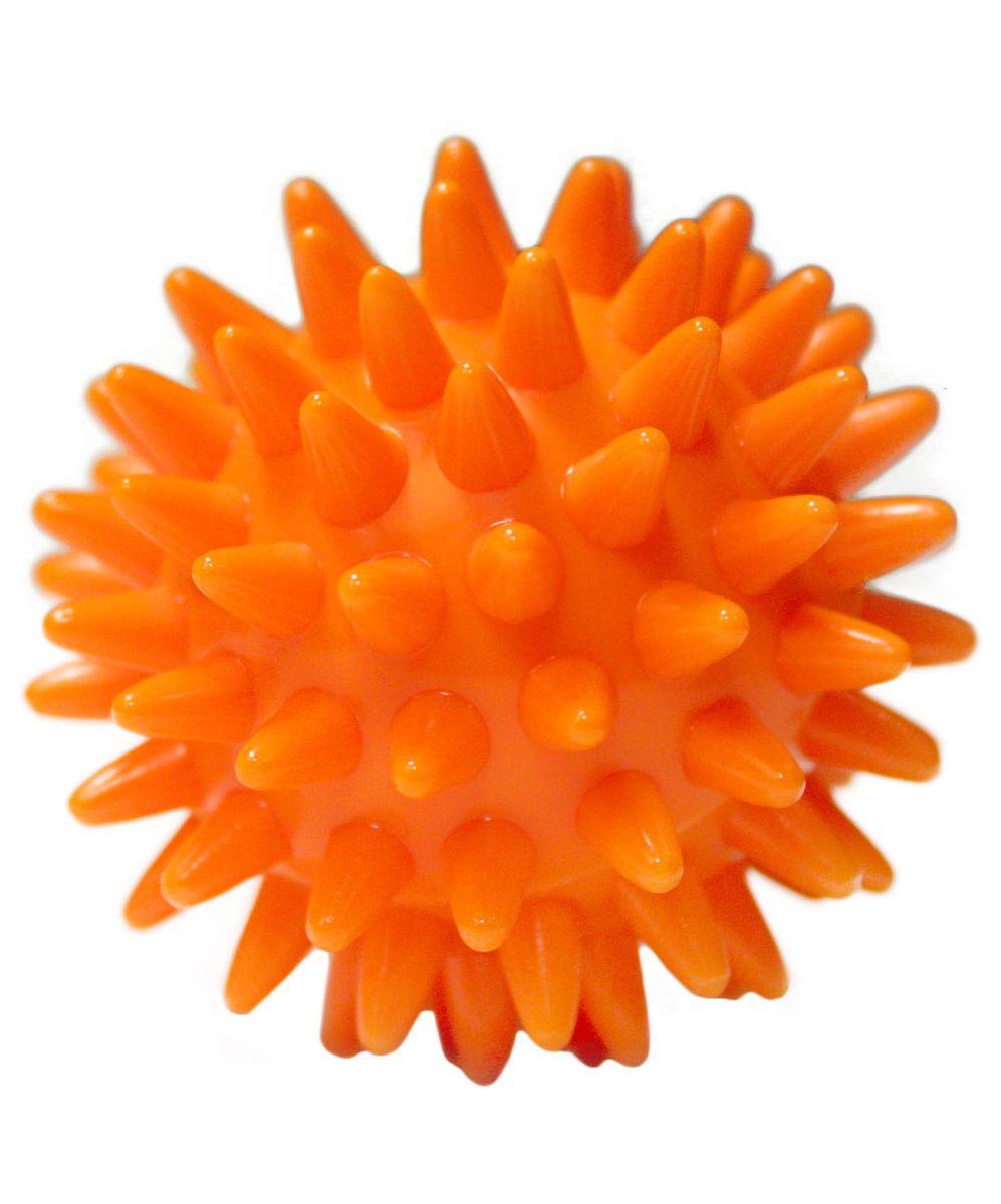 Мяч массажный Starfit, цвет: оранжевый, диаметр 6 смУТ-00007271Массажный мяч Star Fit, выполненный из мягкого пластика, благодаря игольчатой поверхности благотворно воздействует на нервные окончания и способствует улучшению кровообращения. Идеален для массажа и самомассажа детей и взрослых, для профилактики целлюлита. Подходит для занятий фитнесом и йогой, для реабилитации после травм.