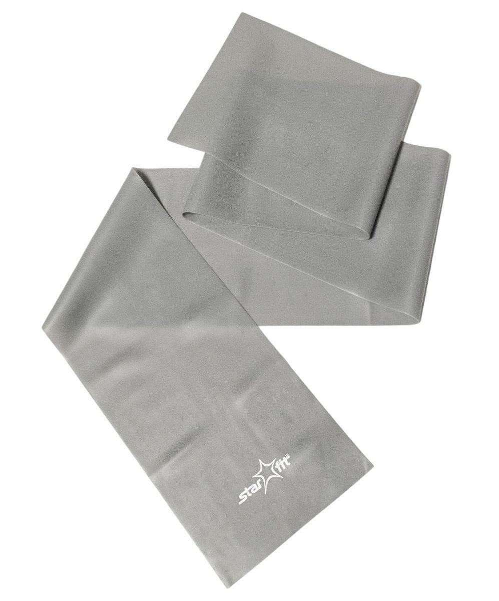 Эспандер ленточный Starfit ES-201, цвет: серый, 120 х 15 х 0,55 смУТ-00007331Эспандер ленточный ES-201 - это легкий портативный тренажер в виде ленты, выполненный из ПВХ. Тренажер поможет увеличить силу и выносливость, растянуть и укрепить мышцы. Изделие может также применяться для облегчения выполнения некоторых упражнений в йоге и пилатесе.