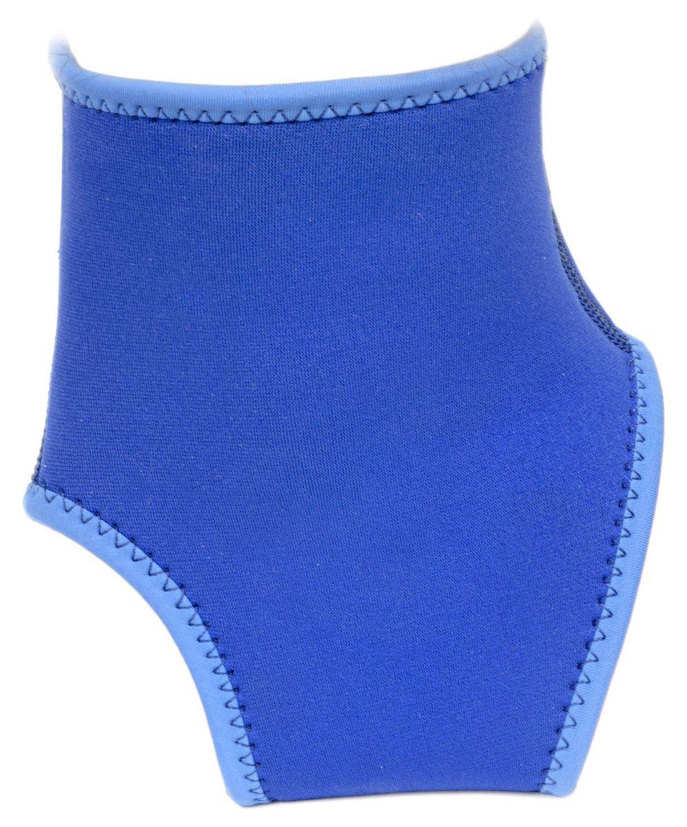 Суппорт голеностопа Starfit SU-401, цвет: синийУТ-00007375Суппорт голеностопа SU-401 - это обязательный аксессуар для спортсменов и любителей, кто получил травмы или перенес операцию на суставе. Изделие обеспечивает мягкую, но надежную поддержку и компрессию ослабленных мышц. Суппорт позволяет устранить легкую нестабильность сустава, не ограничивая при этом подвижность и не препятствуя нормальной циркуляции крови.