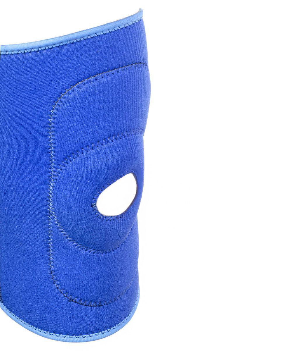 Суппорт колена Star Fit, цвет: синий. SU-502УТ-00007378Суппорт колена SU-502 с отверстием, синий - это эластичный согревающий наколенник от популярного австралийского бренда Star Fit. Суппорт SU-502 обеспечивает поддержку коленного сустава и помогает избежать травмы при нагрузках.