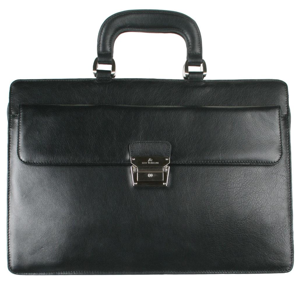 Портфель мужской Leo Ventoni, цвет: черный. 03002187-01