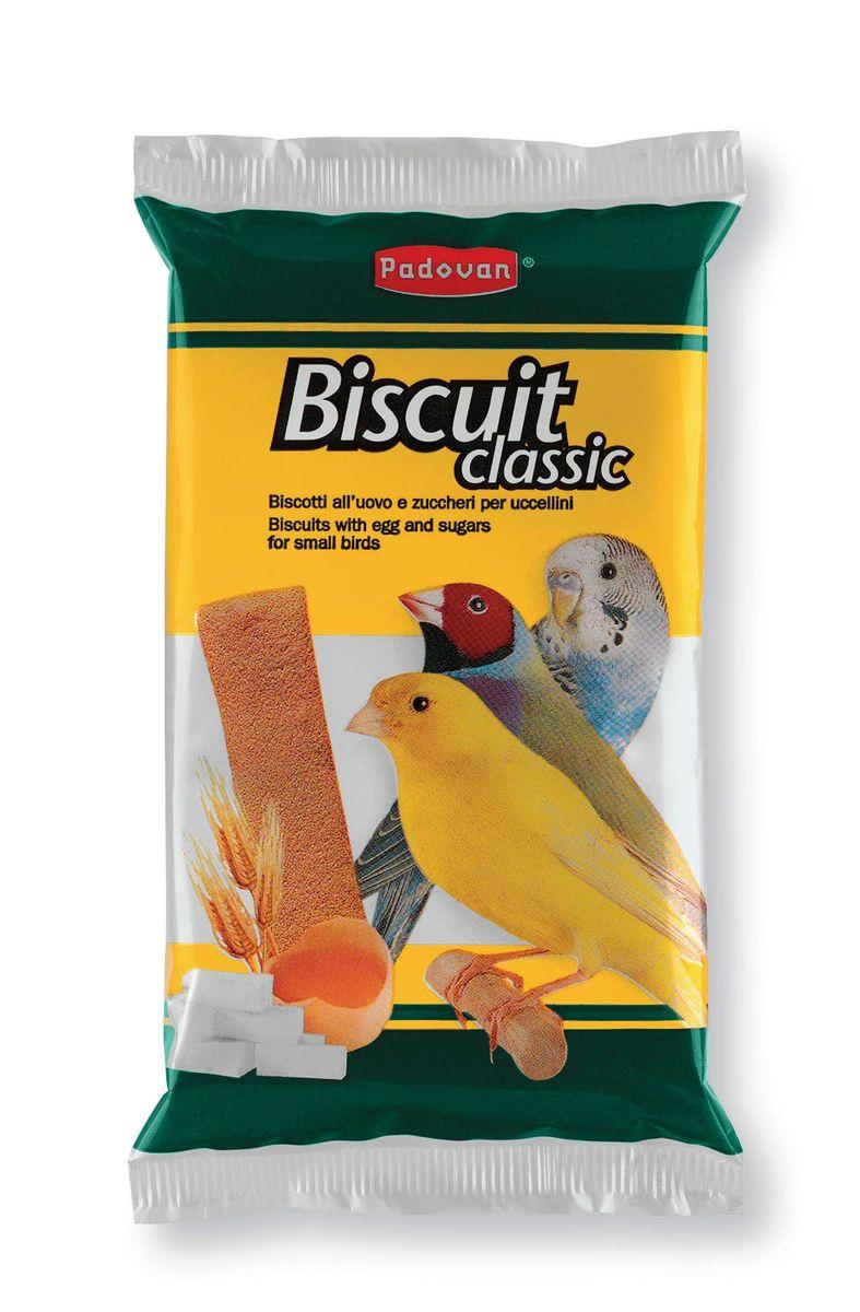Бисквиты Padovan Сладкие яичныедля декоративных птиц, 5 х 30 г16885Лакомство - пять аппетитных маленьких бисквитов содержат ряд полезных пищевых добавок. Предназначено для мелких декоративных птиц. Состав: пшеничная мука 25.0 %, сахар 23.0 %, яйцо 26.8%, консерванты, пищевой краситель.