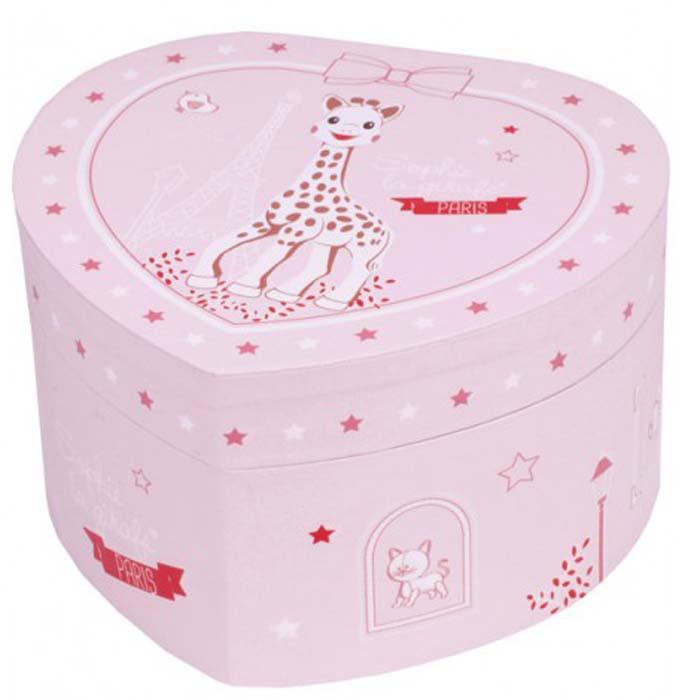 Trousselier Музыкальная шкатулка Figurine Sophie цвет розовыйS10062
