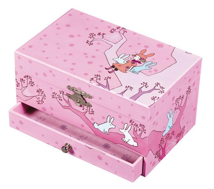Trousselier Музыкальная шкатулка Jewellery Box Girl on TreeS60600BGIRL