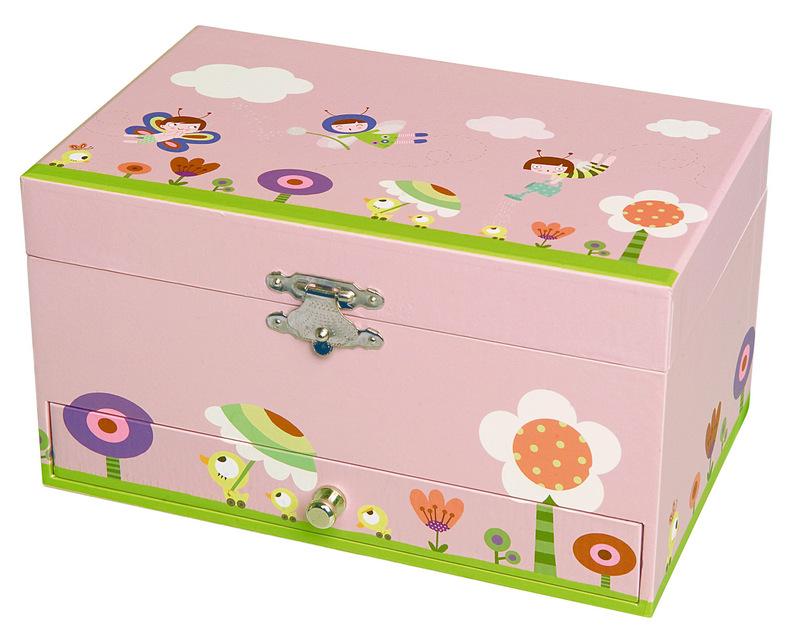 Trousselier Музыкальная шкатулка Jewellery Box Ninon & Nioui In GardenS60609