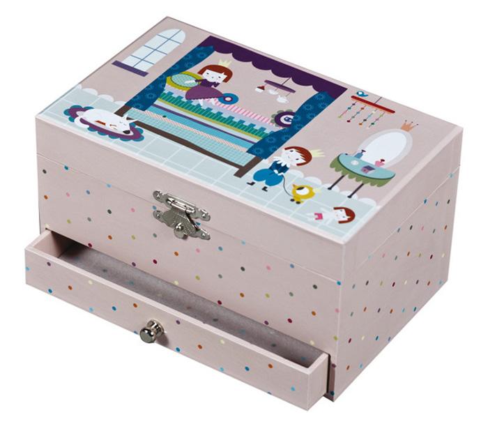 Trousselier Музыкальная шкатулка Jewellery Box Ninon Prince & PrincessS60606