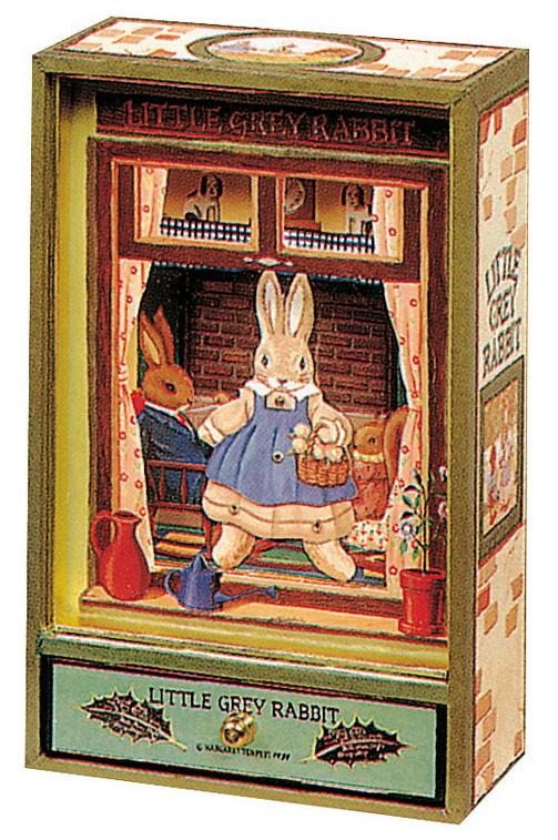 Trousselier Музыкальная шкатулка Little Grey Rabbit цвет зеленый