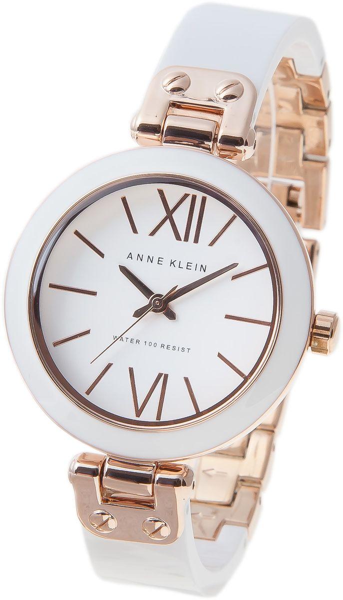 Наручные часы женские Anne Klein, цвет: белый. 1196RGWT1196RGWTОригинальные и качественные часы Anne Klein