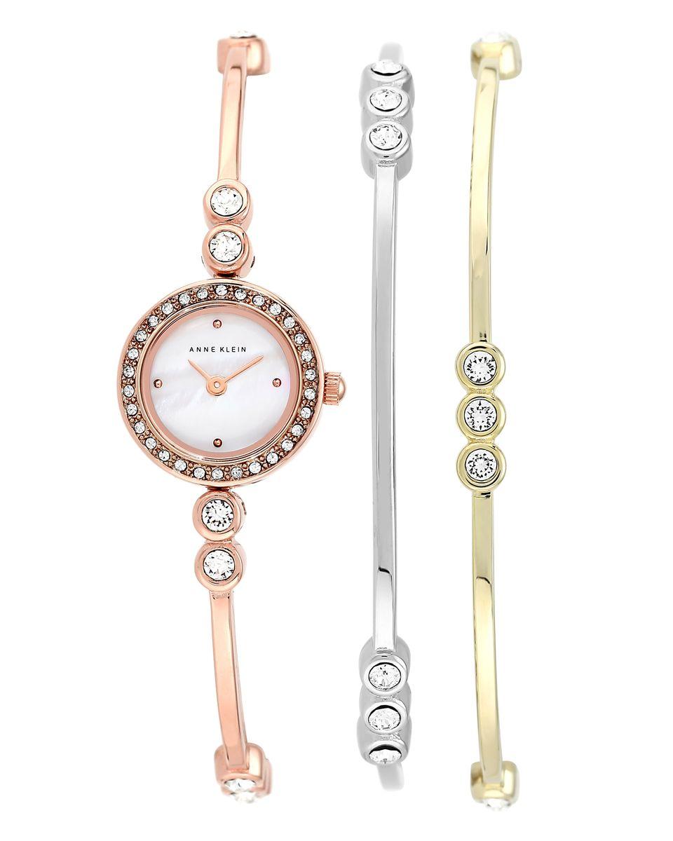 Наручные часы женские Anne Klein, цвет: розовый. 1690TRST1690TRSTОригинальные и качественные часы Anne Klein