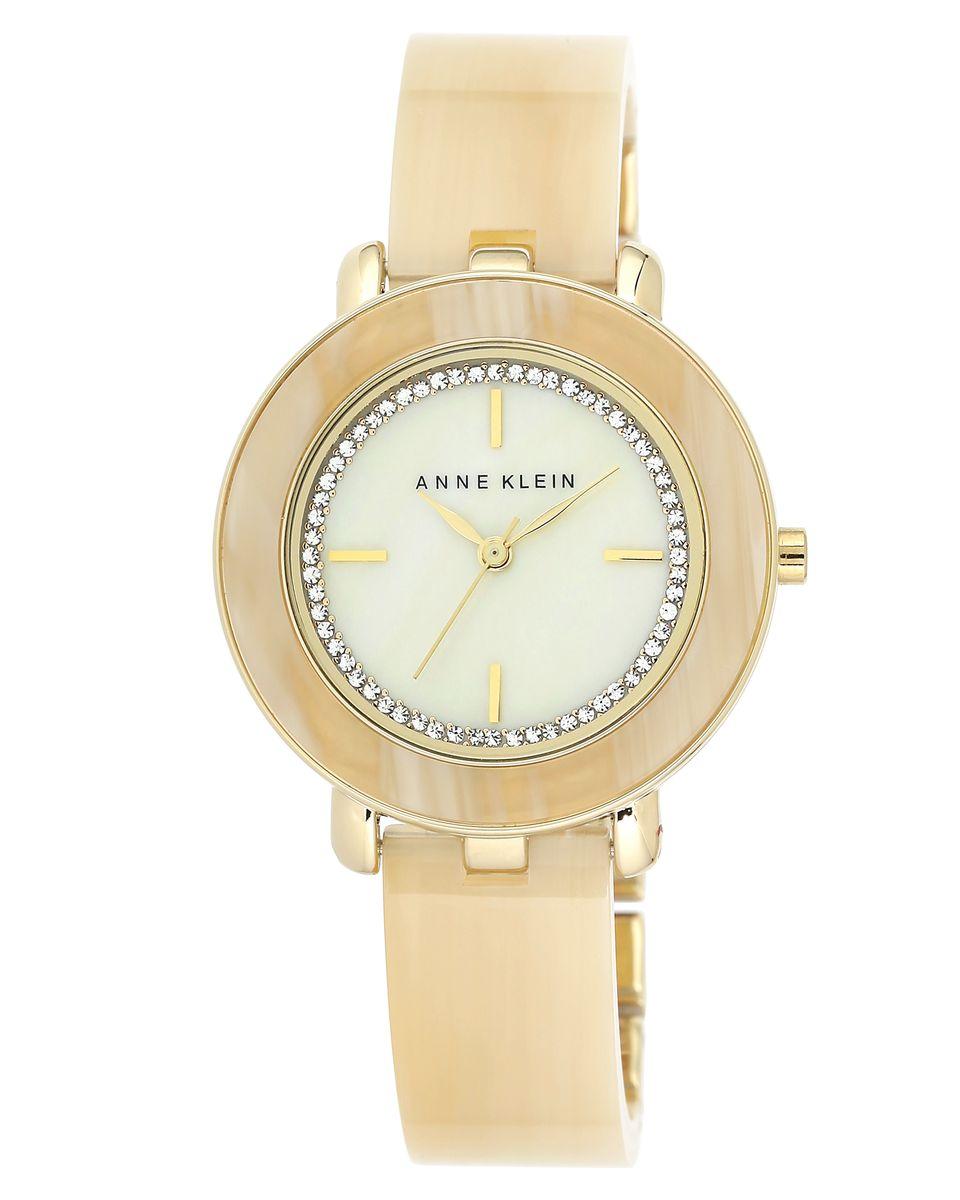 Наручные часы женские Anne Klein, цвет: бежевый. 1972CMHN1972CMHNОригинальные и качественные часы Anne Klein
