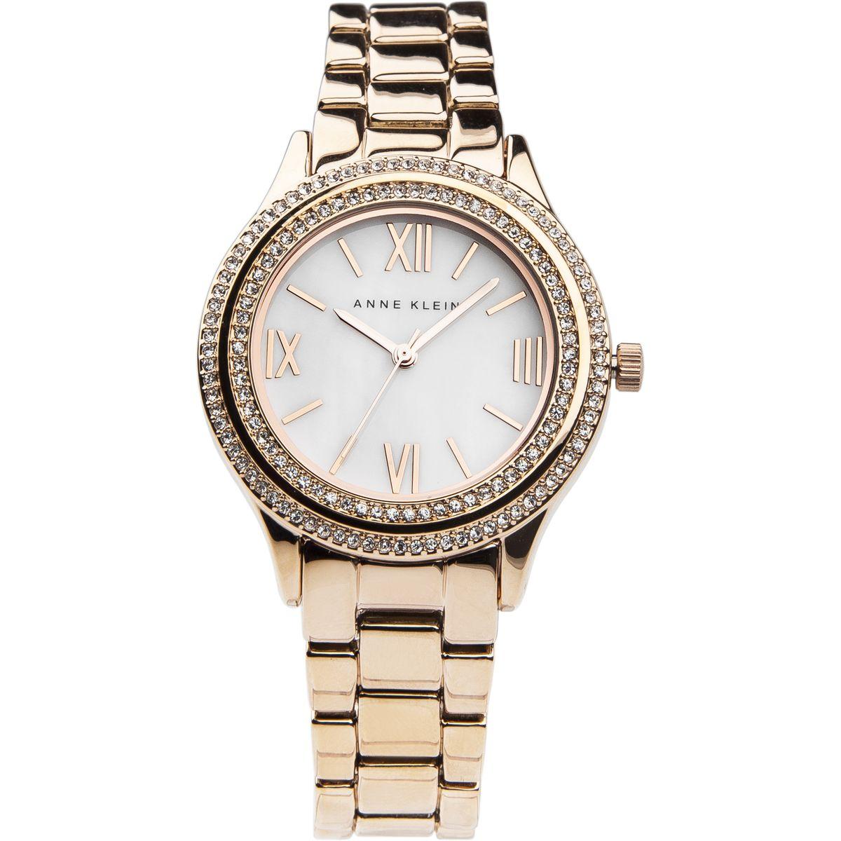Наручные часы женские Anne Klein, цвет: золотистый, розовый. 2006MPRG2006MPRGОригинальные и качественные часы Anne Klein