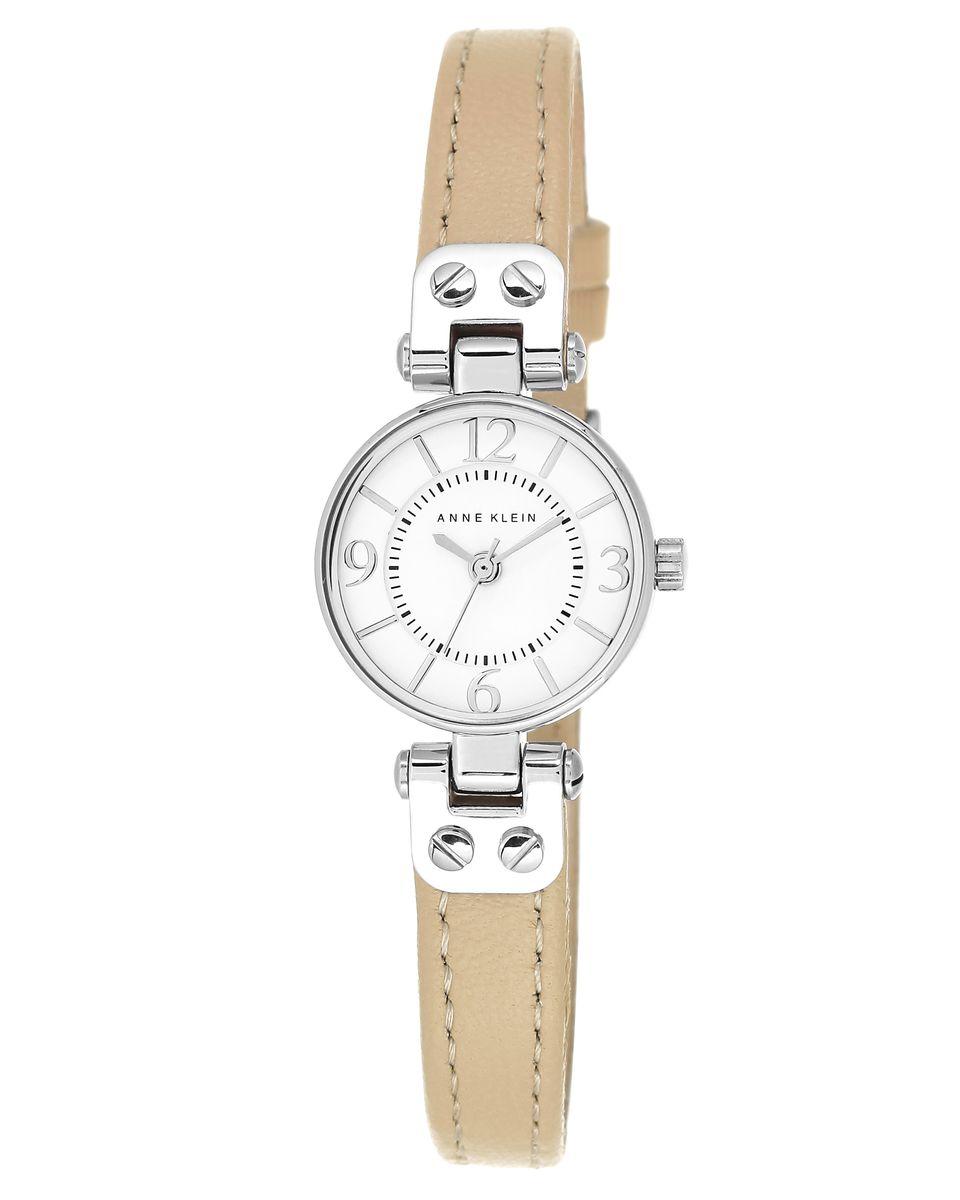 Наручные часы женские Anne Klein, цвет: серый металлик, бежевый. 2031WTTN2031WTTNОригинальные и качественные часы Anne Klein