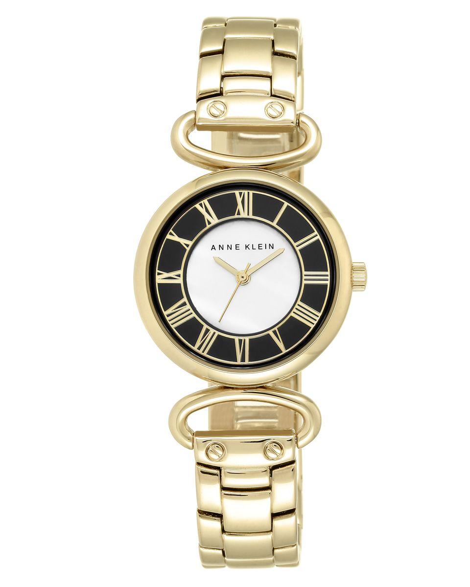 Наручные часы женские Anne Klein, цвет: золотистый. 2122BKGB2122BKGBОригинальные и качественные часы Anne Klein