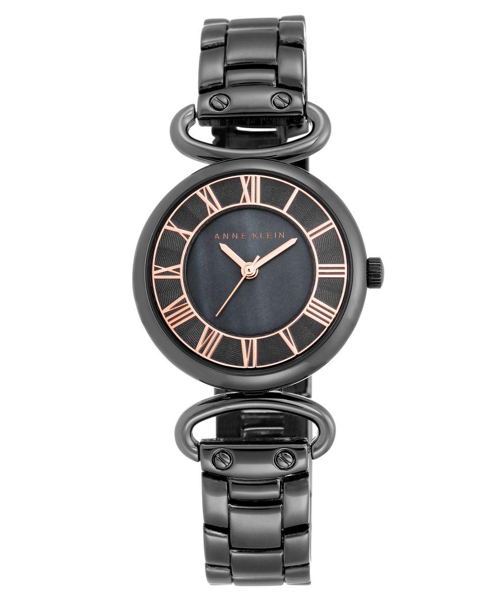 Наручные часы женские Anne Klein, цвет: черный. 2123GMRT2123GMRTОригинальные и качественные часы Anne Klein