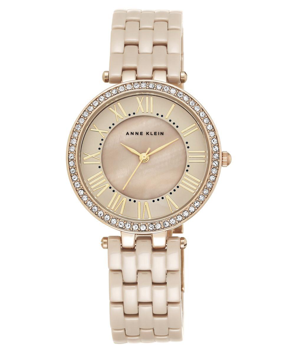 Наручные часы женские Anne Klein, цвет: серый, серый. 2130TNGB2130TNGBОригинальные и качественные часы Anne Klein