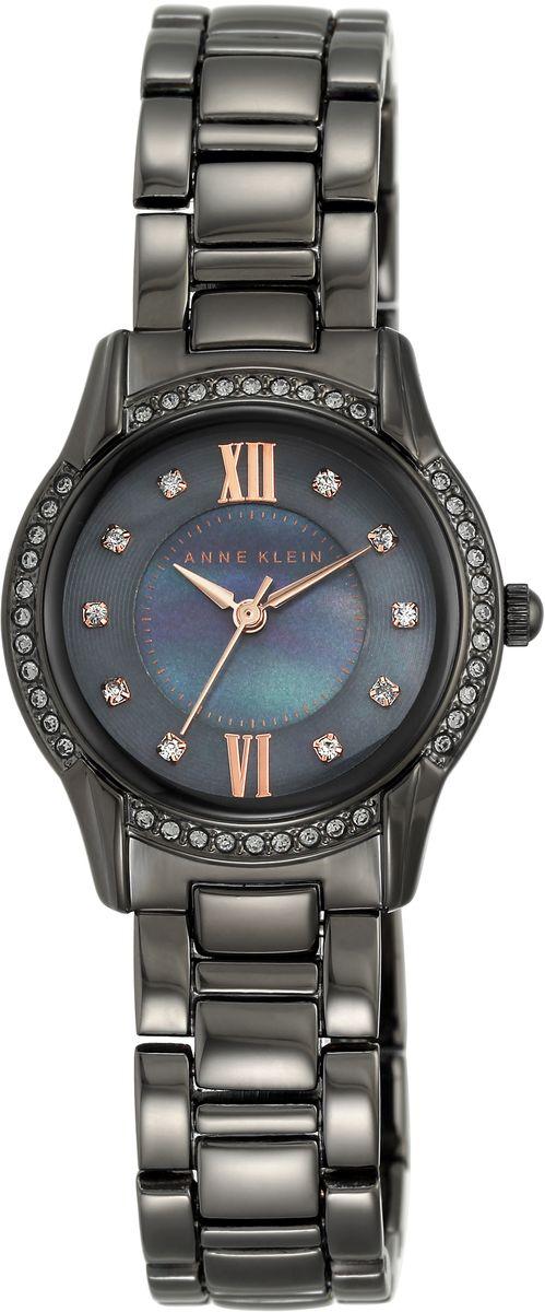 Наручные часы женские Anne Klein, цвет: черный. 2161GMRT2161GMRTОригинальные и качественные часы Anne Klein