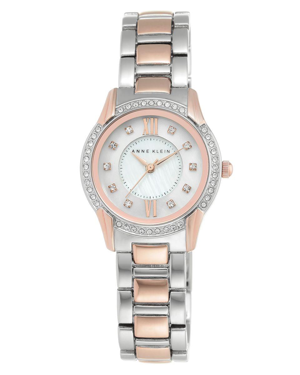 Наручные часы женские Anne Klein, цвет: серый металлик, серый. 2161MPRT2161MPRTОригинальные и качественные часы Anne Klein