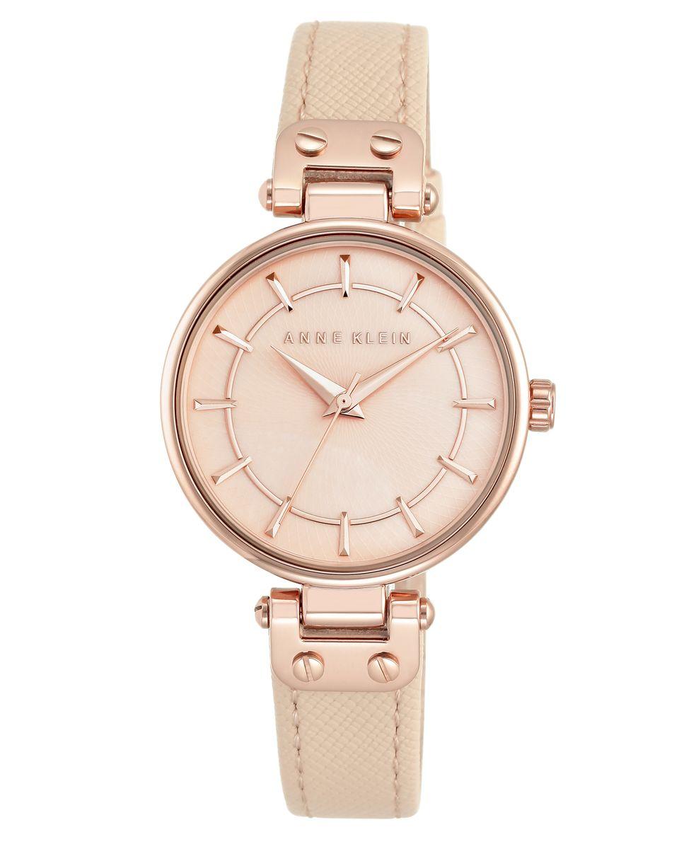 Наручные часы женские Anne Klein, цвет: золотистый, розовый. 2188RGLP2188RGLPОригинальные и качественные часы Anne Klein