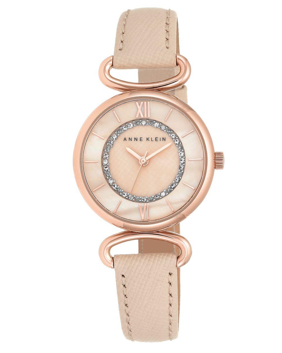 Наручные часы женские Anne Klein, цвет: золотистый, бежевый. 2192RGLP2192RGLPОригинальные и качественные часы Anne Klein
