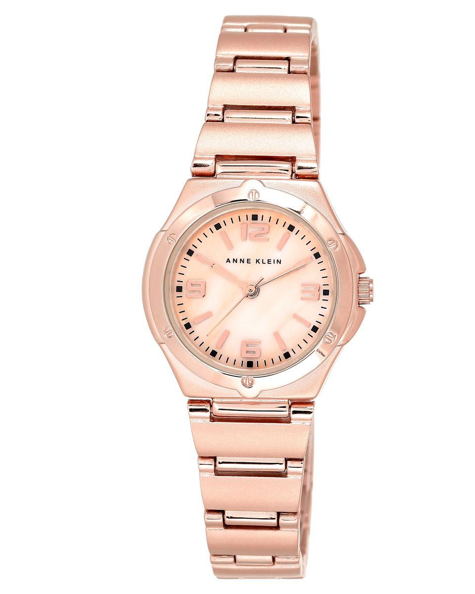 Наручные часы женские Anne Klein, цвет: золотистый, розовый. 8654RMRG8654RMRGОригинальные и качественные часы Anne Klein
