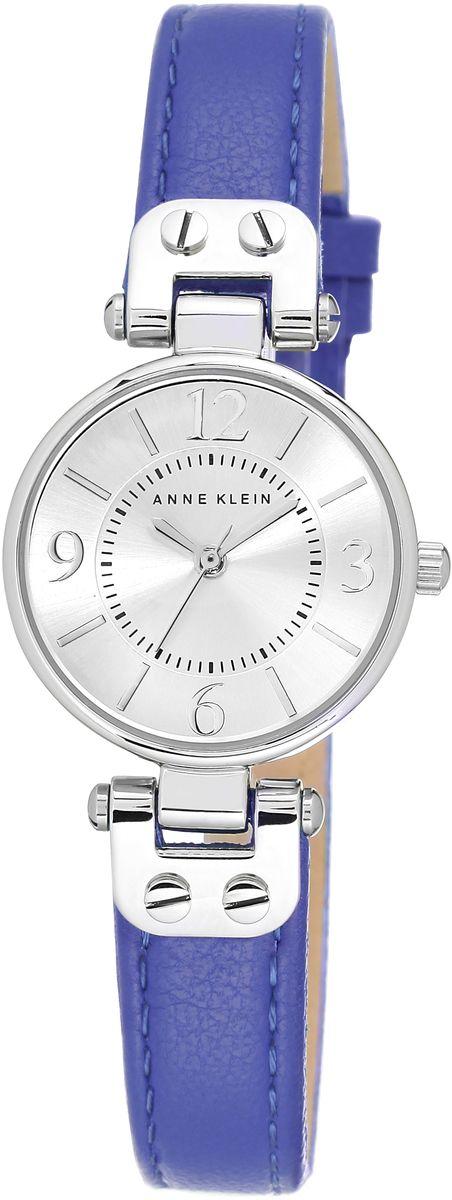 Наручные часы женские Anne Klein, цвет: серый металлик, синий. 9443SVCB9443SVCBОригинальные и качественные часы Anne Klein