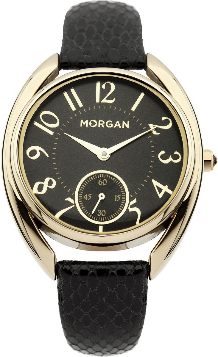 Наручные часы женские Morgan, цвет: золотой, черный. M1221BGM1221BGДвухстрелочный механизм VD78; Металл IPG покрытие; Размер корпуса: ? 36 mm; Минеральное стекло; Циферблат черного цвета; Чешские кристаллы; Ремешок из натуральной кожи черного цвета; Водозащита 3 ATM