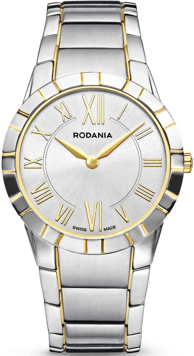 Наручные часы мужские Rodania, цвет: серый металлик, серый. 25079822507982Оригинальные и качественные часы Rodania