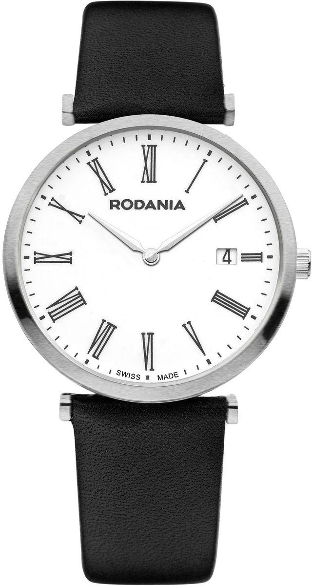 Наручные часы мужские Rodania, цвет: серый металлик, черный. 25056222505622Оригинальные и качественные часы Rodania