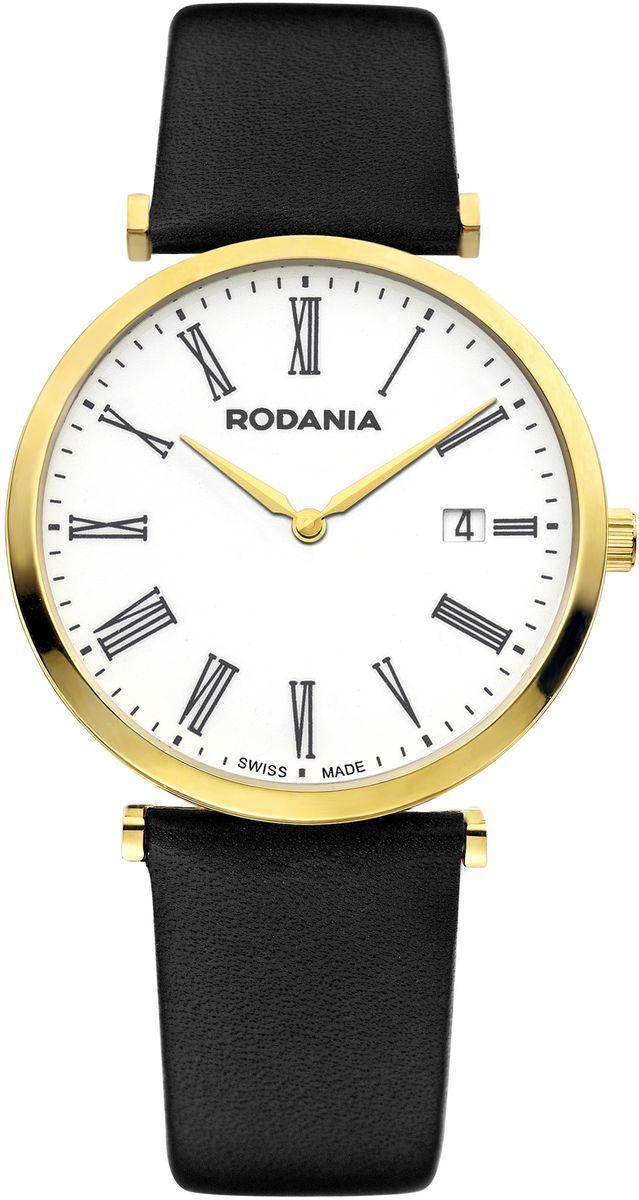 Наручные часы мужские Rodania, цвет: золотистый, черный. 25056322505632Оригинальные и качественные часы Rodania