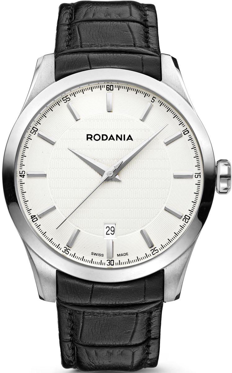 Наручные часы мужские Rodania, цвет: серый металлик, черный. 25068202506820Оригинальные и качественные часы Rodania