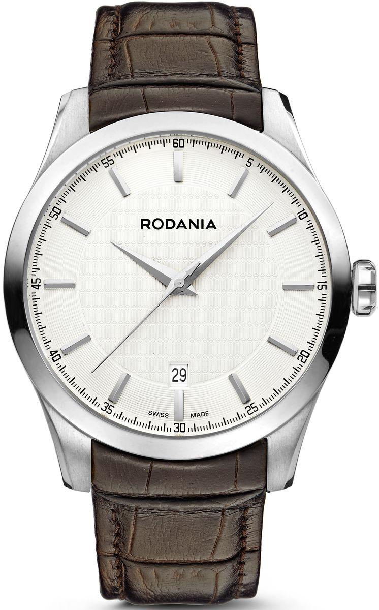 Наручные часы мужские Rodania, цвет: серый металлик, коричневый. 25068212506821Оригинальные и качественные часы Rodania