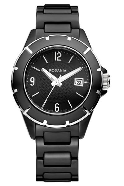 Наручные часы женские Rodania, цвет: черный. 25085462508546Оригинальные и качественные часы Rodania