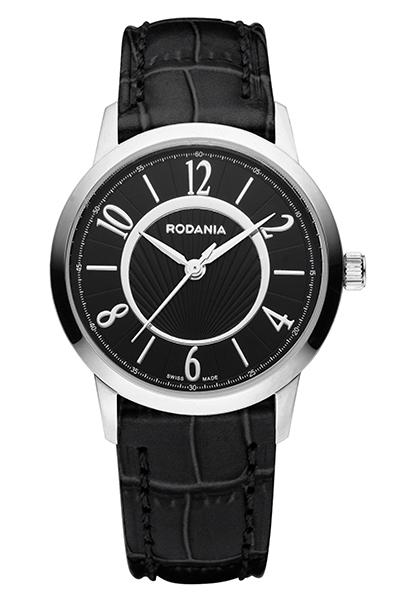 Наручные часы мужские Rodania, цвет: серый металлик, черный. 25082262508226Оригинальные и качественные часы Rodania