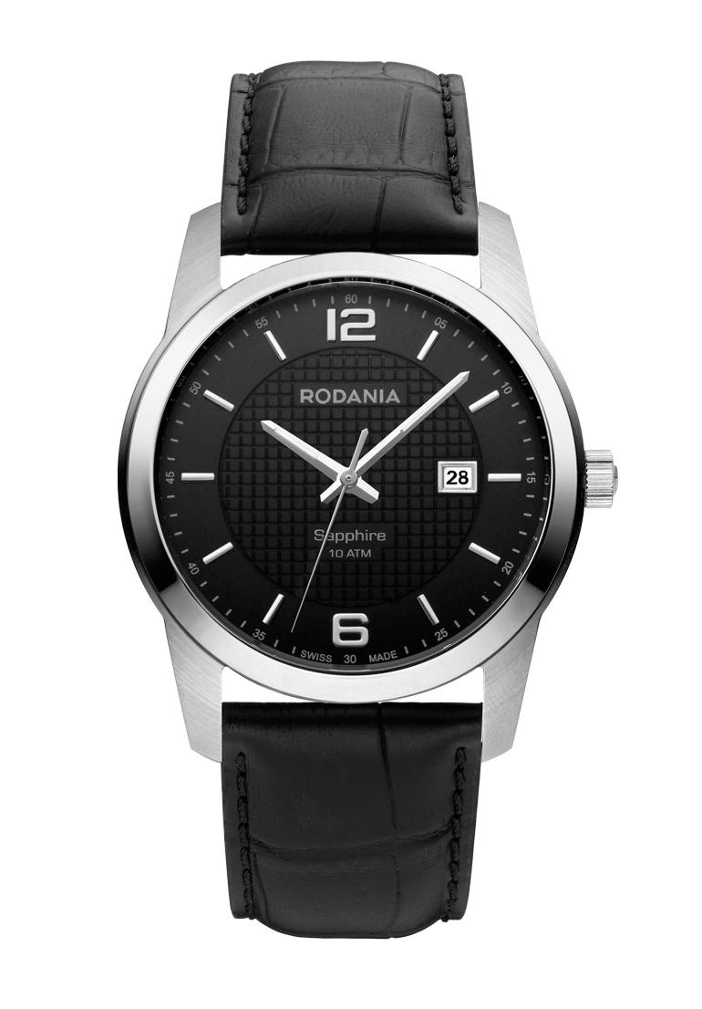 Наручные часы мужские Rodania, цвет: серый металлик, черный. 25110262511026Оригинальные и качественные часы Rodania