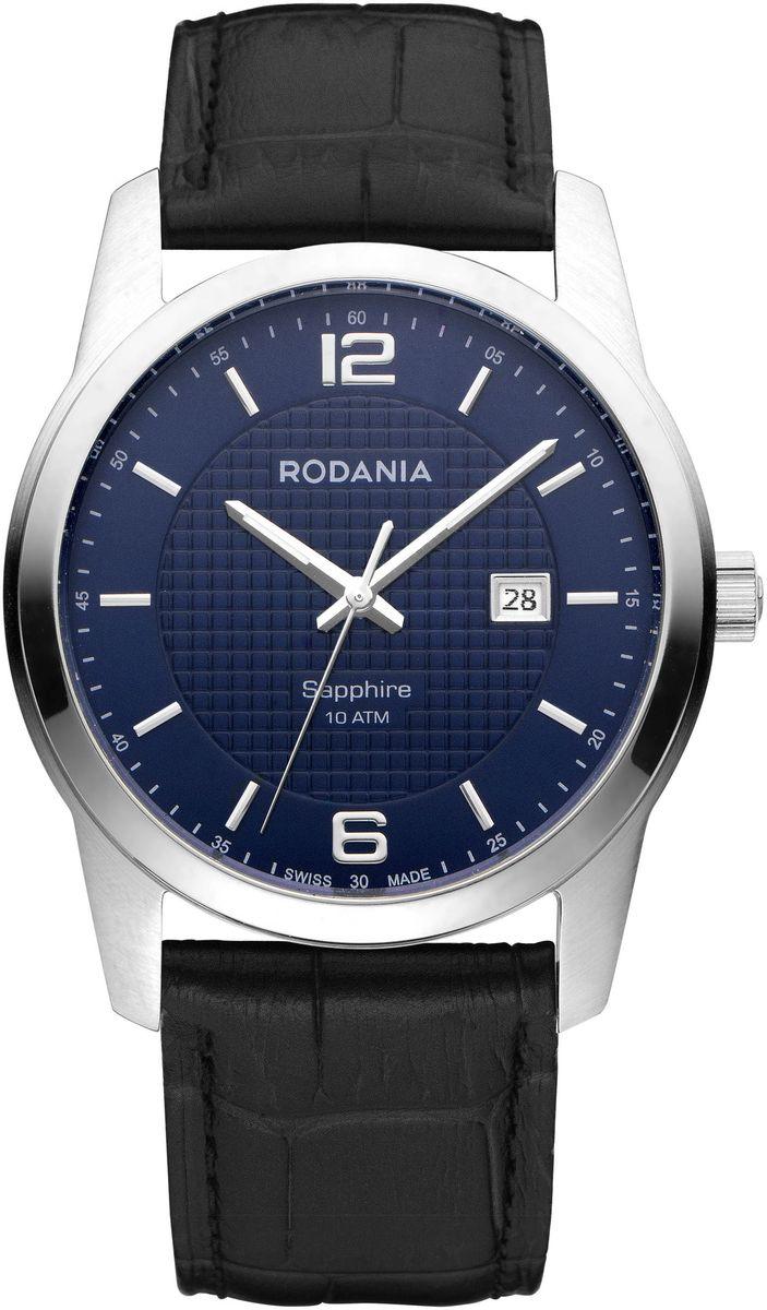 Наручные часы мужские Rodania, цвет: серый металлик, черный. 25110292511029Оригинальные и качественные часы Rodania
